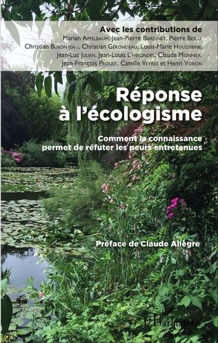 Couverture Réponse à l'écologisme