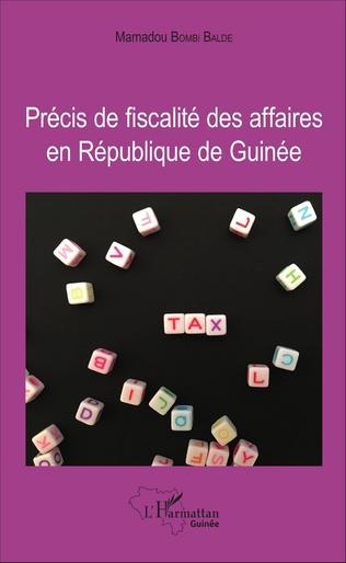 Couverture Précis de fiscalité des affaires en République de Guinée