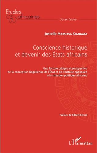 Couverture Conscience historique et devenir des Etats africains
