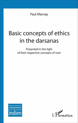 Couverture Basic concepts of ethics in the darsanas
