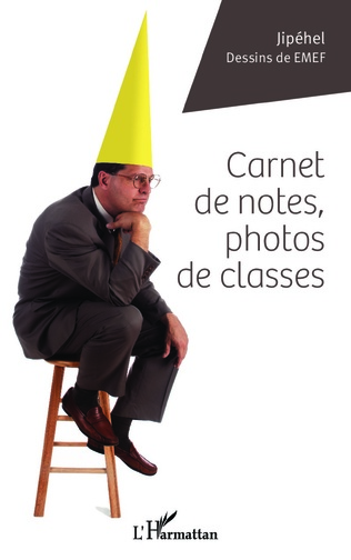 Couverture Carnet de notes, photos de classes