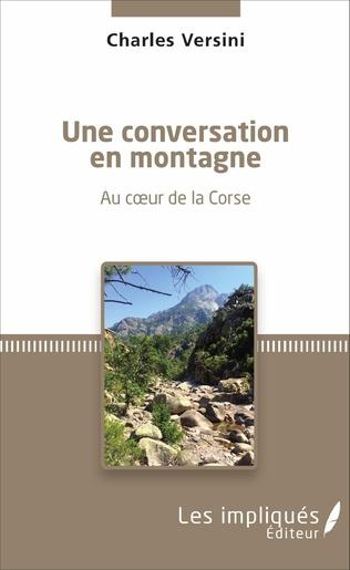 Couverture Une conversation en montagne