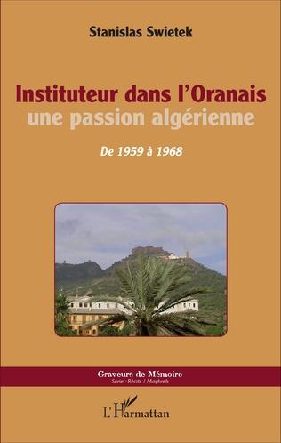 Couverture Instituteur dans l'Oranais