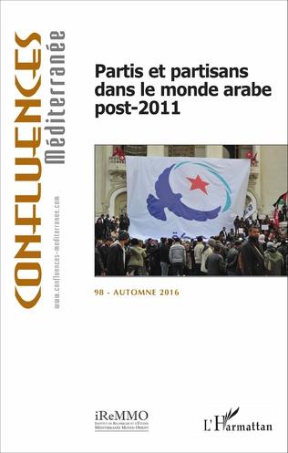 Couverture Partis et partisans dans le monde arabe post-2011