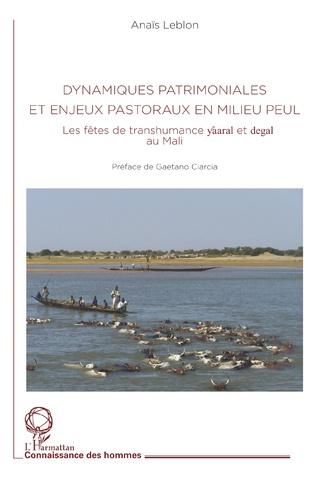 Couverture Dynamiques patrimoniales et enjeux pastoraux en milieu peul