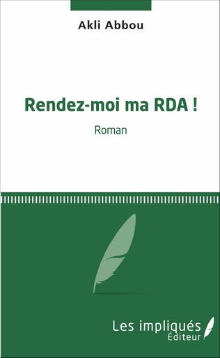 Couverture Rendez-moi ma RDA !
