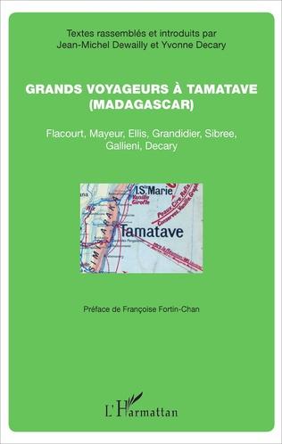 Couverture Grands voyageurs à Tamatave