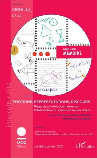 Couverture Émotions, représentations, discours