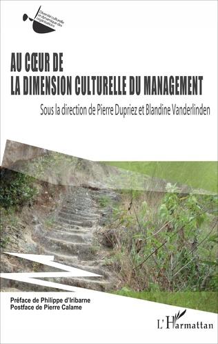Couverture Au coeur de la dimension culturelle du management