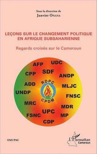 Couverture Leçons sur le changement politique en Afrique subsaharienne