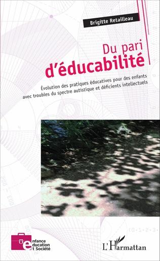 Couverture Du pari d'éducabilité