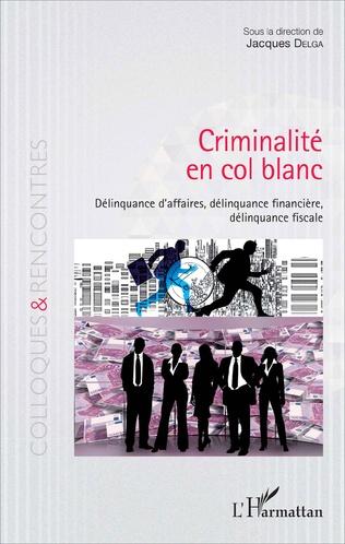 Couverture Criminalité en col blanc