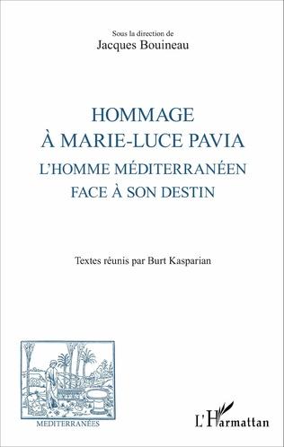 Couverture Hommage à Marie-Luce Pavia