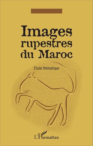 Couverture Images rupestres du Maroc