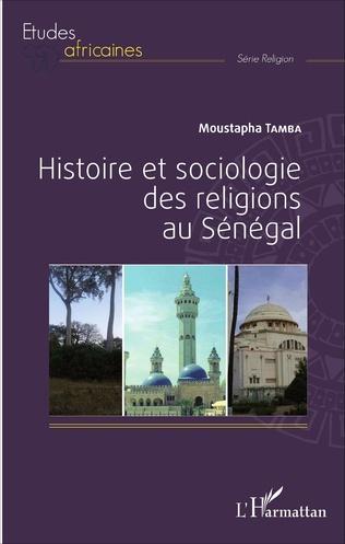 Couverture Histoire et sociologie des religions au Sénégal