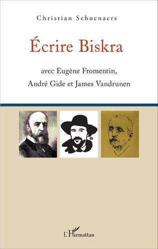 Couverture Écrire Biskra