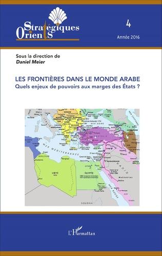 Couverture Les frontières dans le monde arabe
