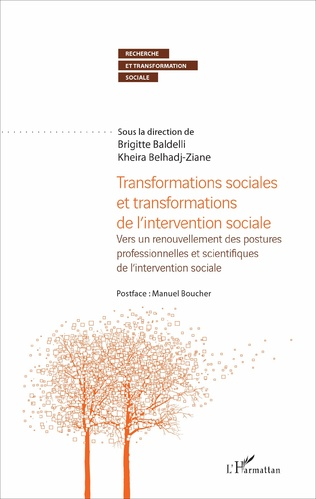 Couverture Transformations sociales et transformations de l'intervention sociale