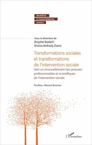 Couverture Transformations sociales et transformations de l'intervention sociale
