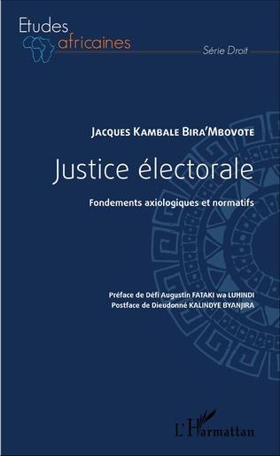 Couverture Justice électorale