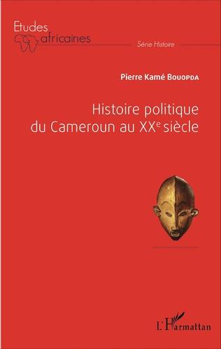Couverture Histoire politique du Cameroun au XXè siècle