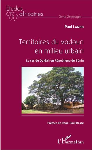 Couverture Territoires du vodoun en milieu urbain