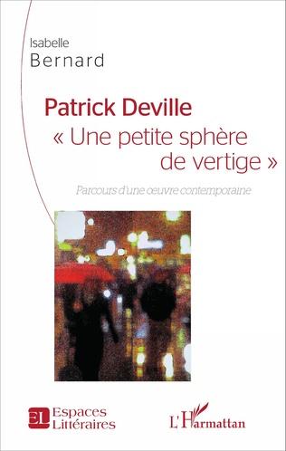 Couverture Patrick Deville