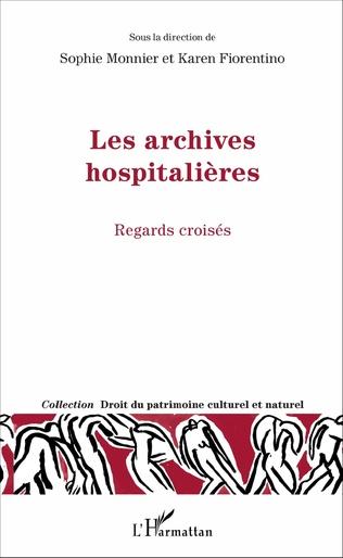 Couverture Les archives hospitalières