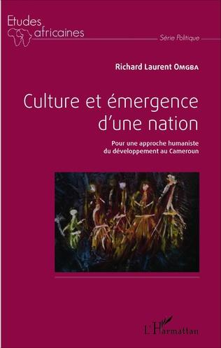 Couverture Culture et émergence d'une nation