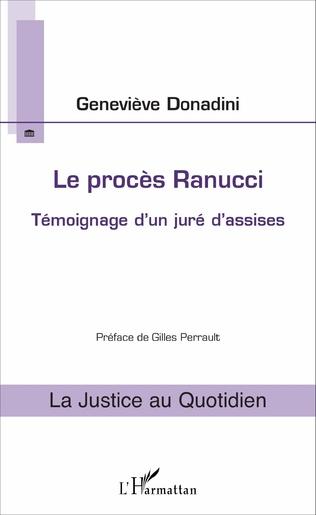 Couverture Le procès Ranucci