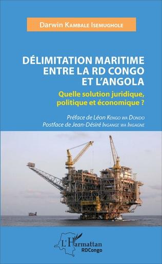 Couverture Délimitation maritime entre la RD Congo et l'Angola