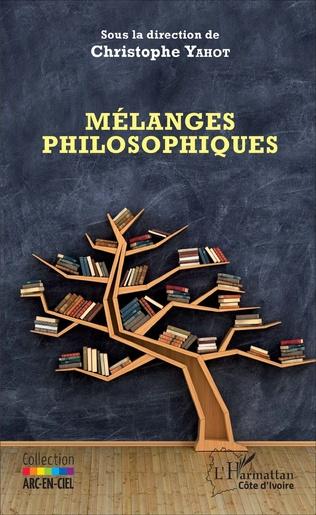 Couverture Mélanges philosophiques