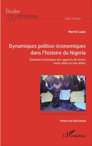Couverture Dynamiques politico-économiques dans l'histoire du Nigéria