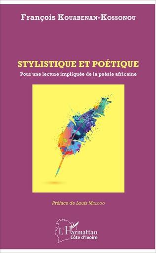 Couverture Stylistique et poétique