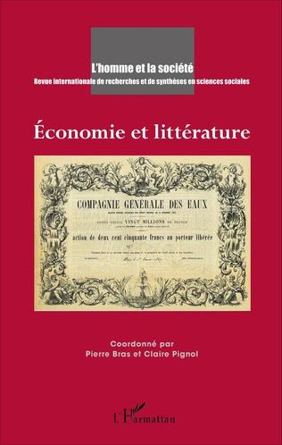 Couverture Economie et littérature