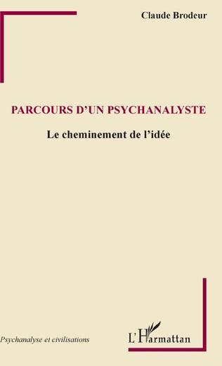 Couverture Parcours d'un psychanalyste