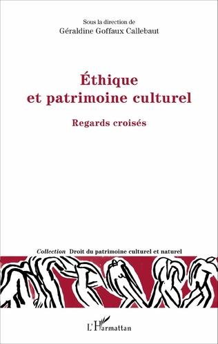 Couverture Ethique et patrimoine culturel