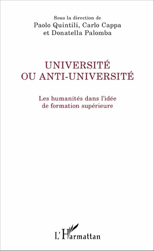Couverture Université ou anti-université