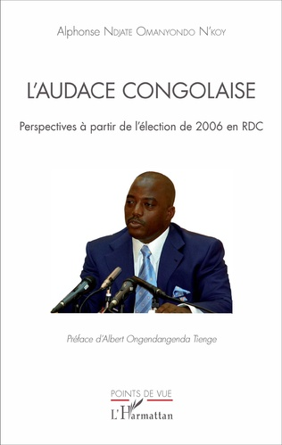 Couverture L'audace congolaise