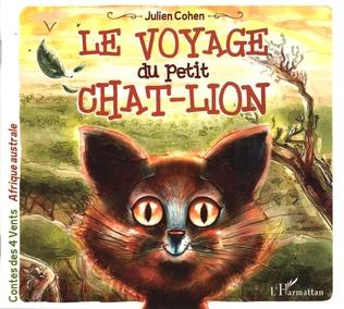 Couverture Le voyage du petit chat-lion