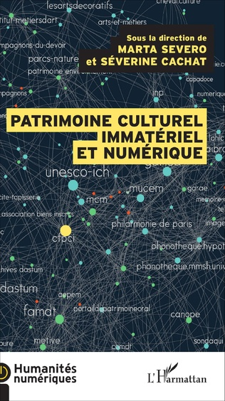 Couverture Le patrimoine culturel immatériel et numérique