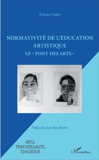 Couverture Normativité de l'éducation artistique