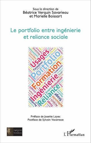 Couverture Le portfolio entre ingénierie et reliance sociale