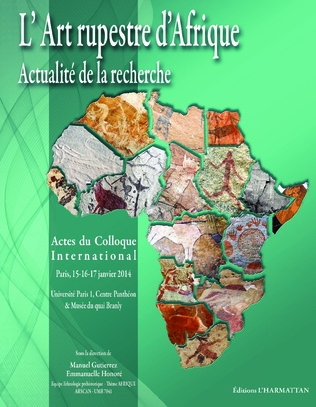 Couverture L'Art rupestre d'Afrique