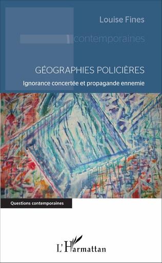 Couverture Géographies policières