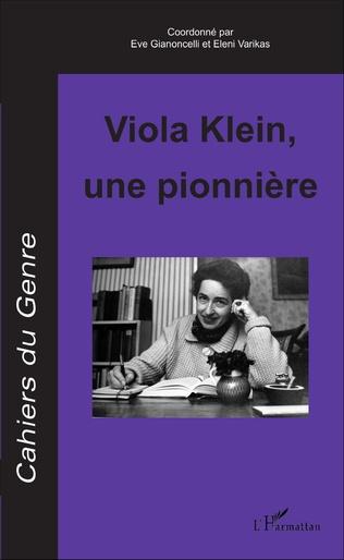 Couverture Viola Klein, une pionnière