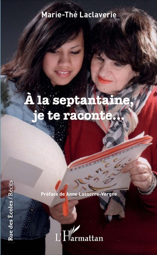 Couverture À la septantaine, je te raconte...