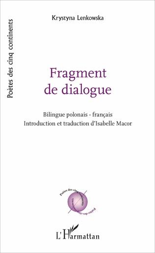 Couverture Fragment de dialogue