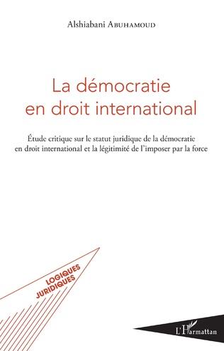 Couverture La démocratie en droit international
