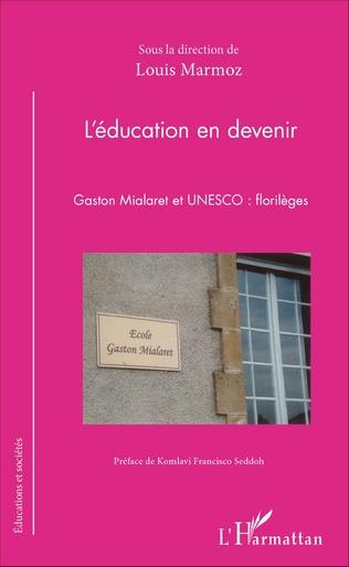 Couverture L'éducation en devenir